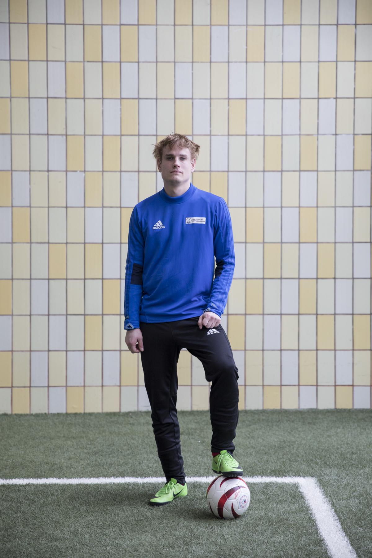 Taime Kuttig | Blindenfußballer der Deutschen Nationalmannschaft